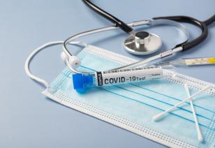 Ввиду симптоматической инфекции COVID-19 в больничном лечении нуждаются 304 человека